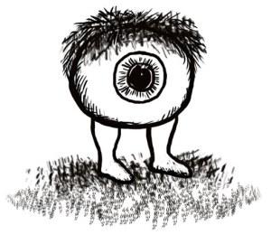 hairy eyeball web