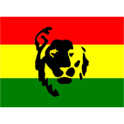 Red-Green-Gold-Lion