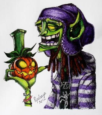 halloween_rasta_goblin_by_dasha_lisica-d5kgcvb