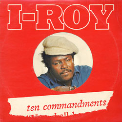 USED-ITEM-I-Roy-Ten-Commandments-PICTURE-DISC-ORIGINAL-PRESS