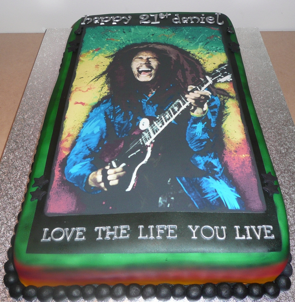 Brilliant Bob Marley Birthday Smile Jamaica Personalised Birthday Cards Veneteletsinfo