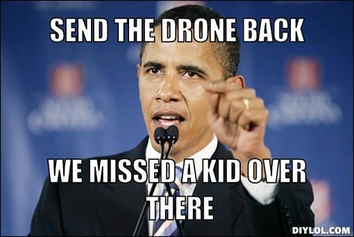 Yes We Can Obama Drone Memes 7